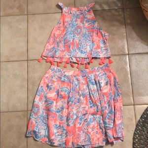 Lilly Pulitzer 2 piece set